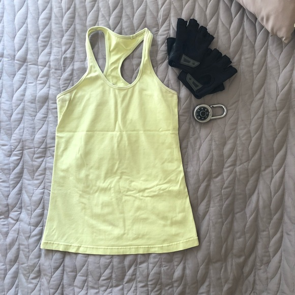 3b153bde259eb 90 Degree By Reflex Tops - Yellow 90 Degree Reflex POWER FLEX TANK TOP